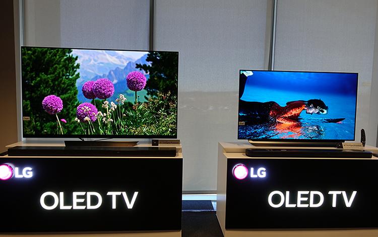 2 телевизора OLED