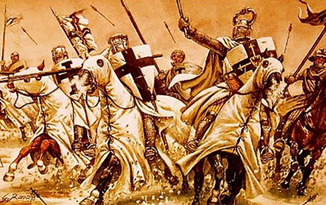 Воины-кретоносцы