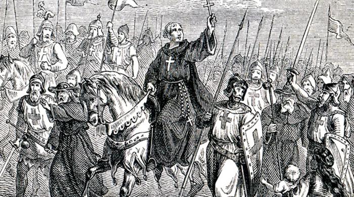 Во время крестового похода