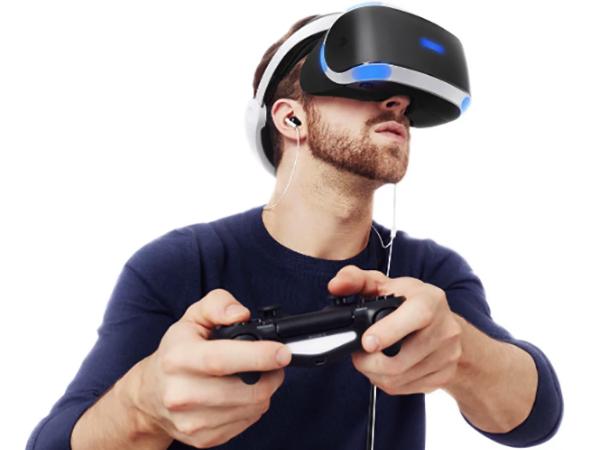 Игра с использованием PS VR