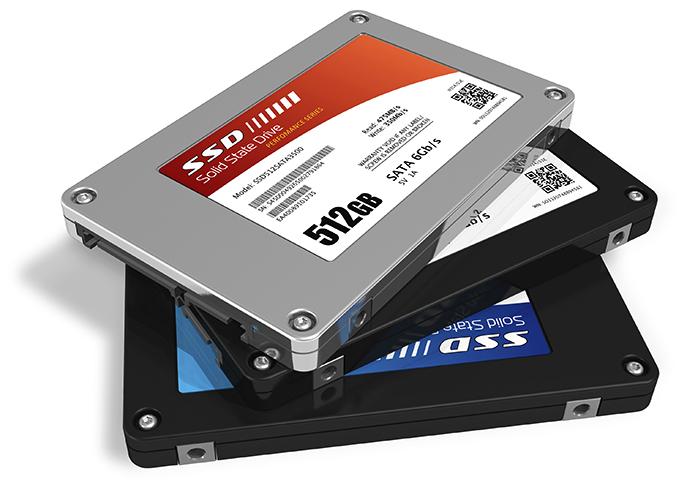 3 диска SSD