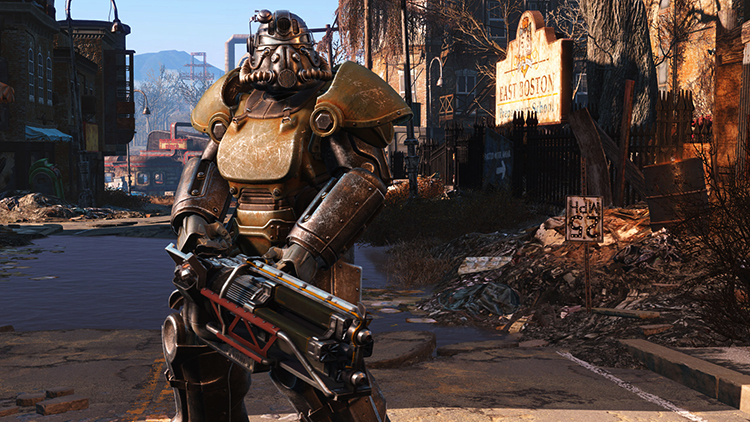 В игре Fallout 4