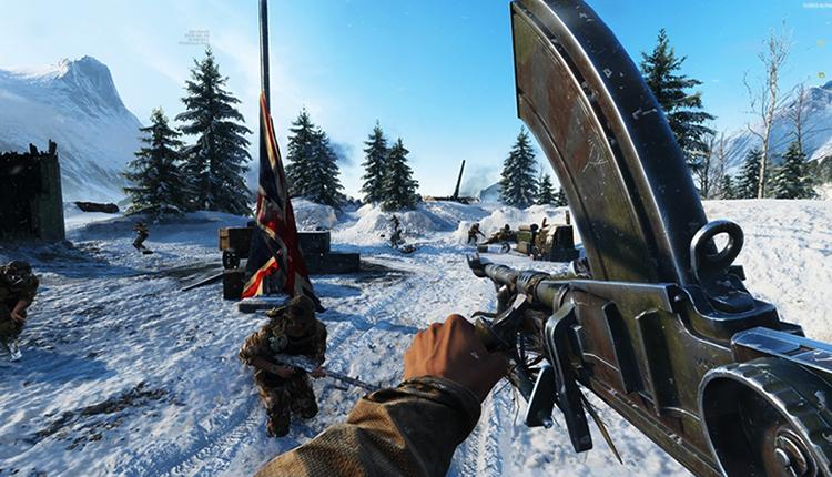 В игре Battlefield V
