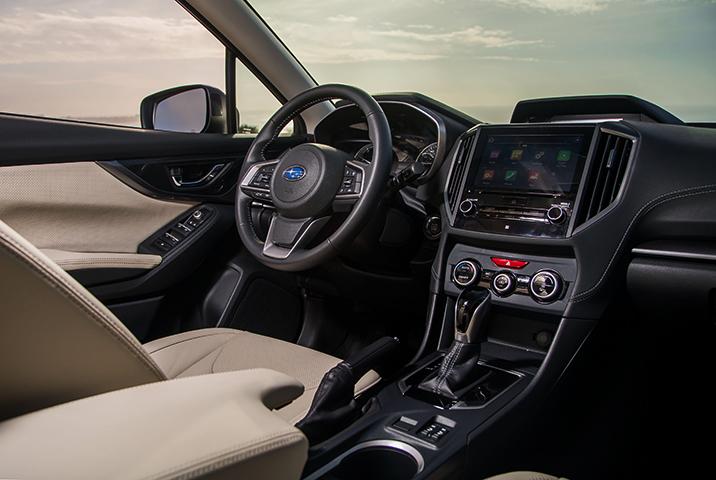 Салон Subaru Impreza