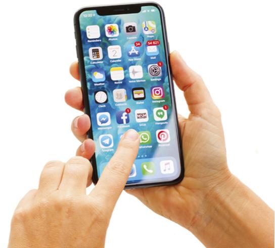 Использование iPhone X