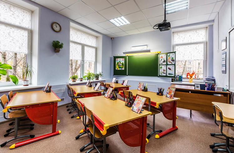 Кабинет частной школы