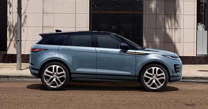 Land Rover в профиль