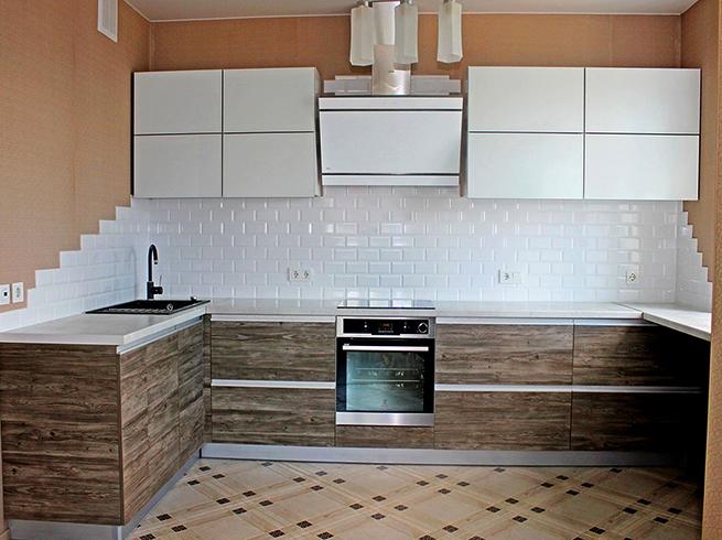 Новая кухня из ЛДСП