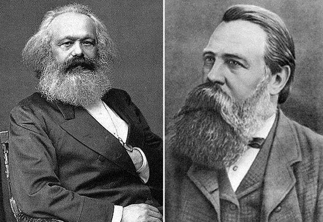 Маркс и Энегльс