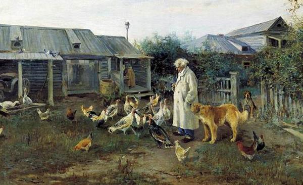 Обломов в деревне