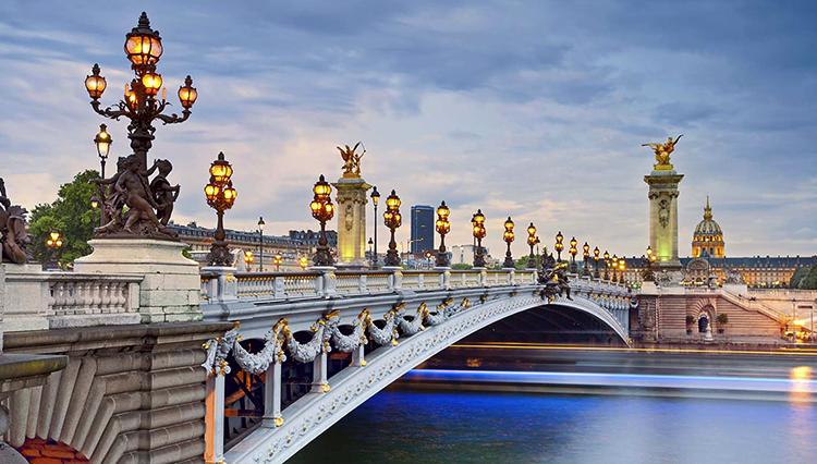 Красивый Париж