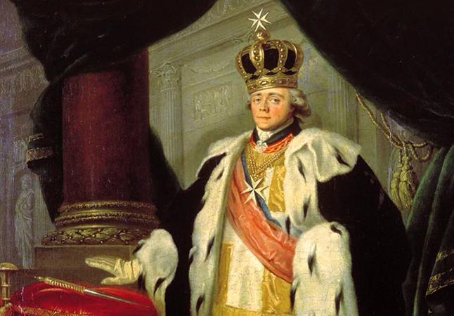 Павел 1 на троне
