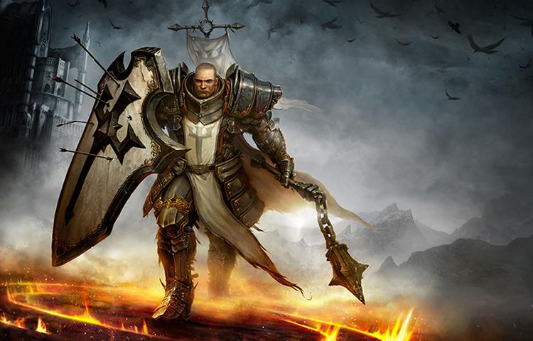 Персонаж игры Diablo 3