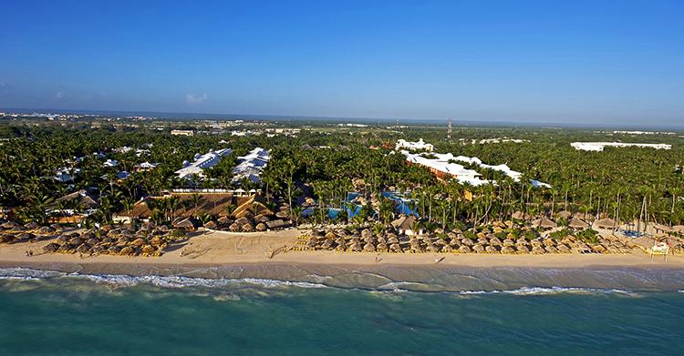 Пляжная линия Доминиканы