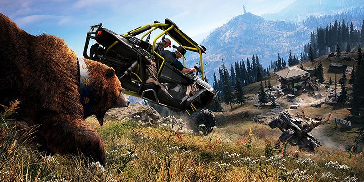 Погоня в игре Far Cry 5