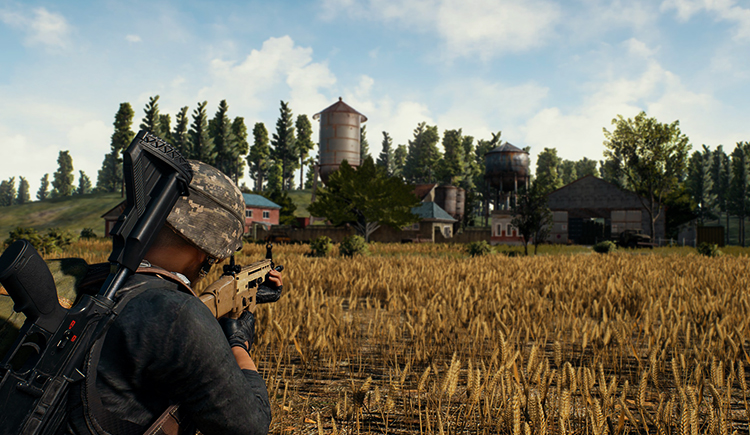 Игра в Player Unknown's Battlegrounds