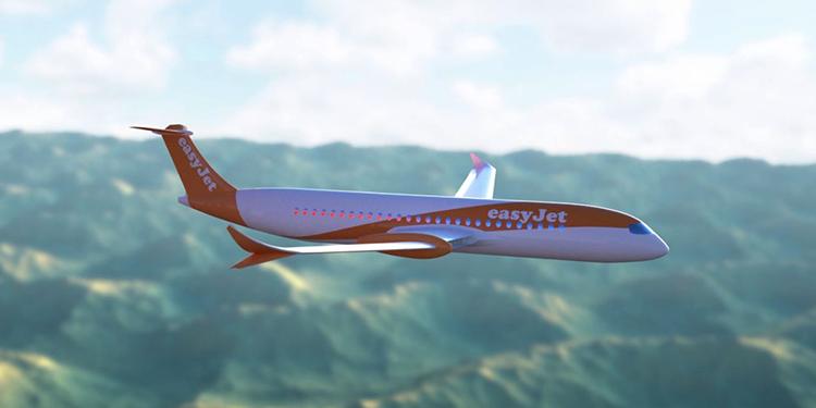 Летающий самолет