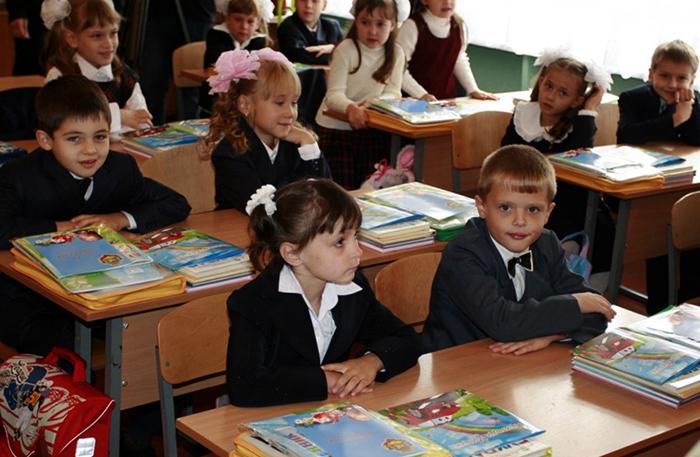 Школьники в России