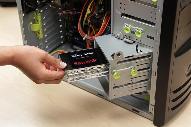 Вставка SSD