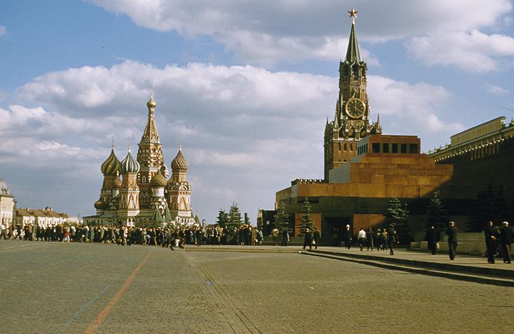 Москва в годы СССР