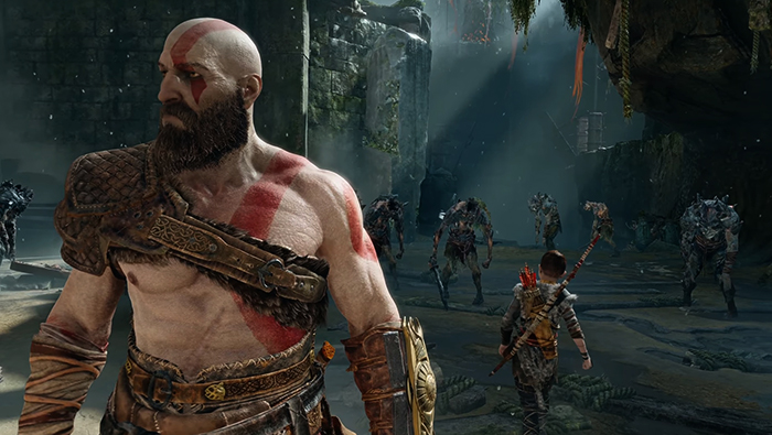 В игре God of War 2018