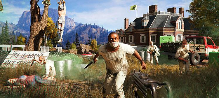 Внутри игры Far Cry 5