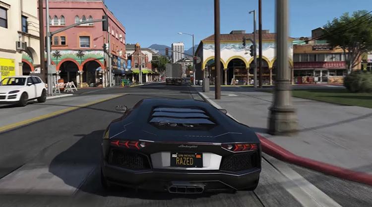 Внутри игры GTA 5