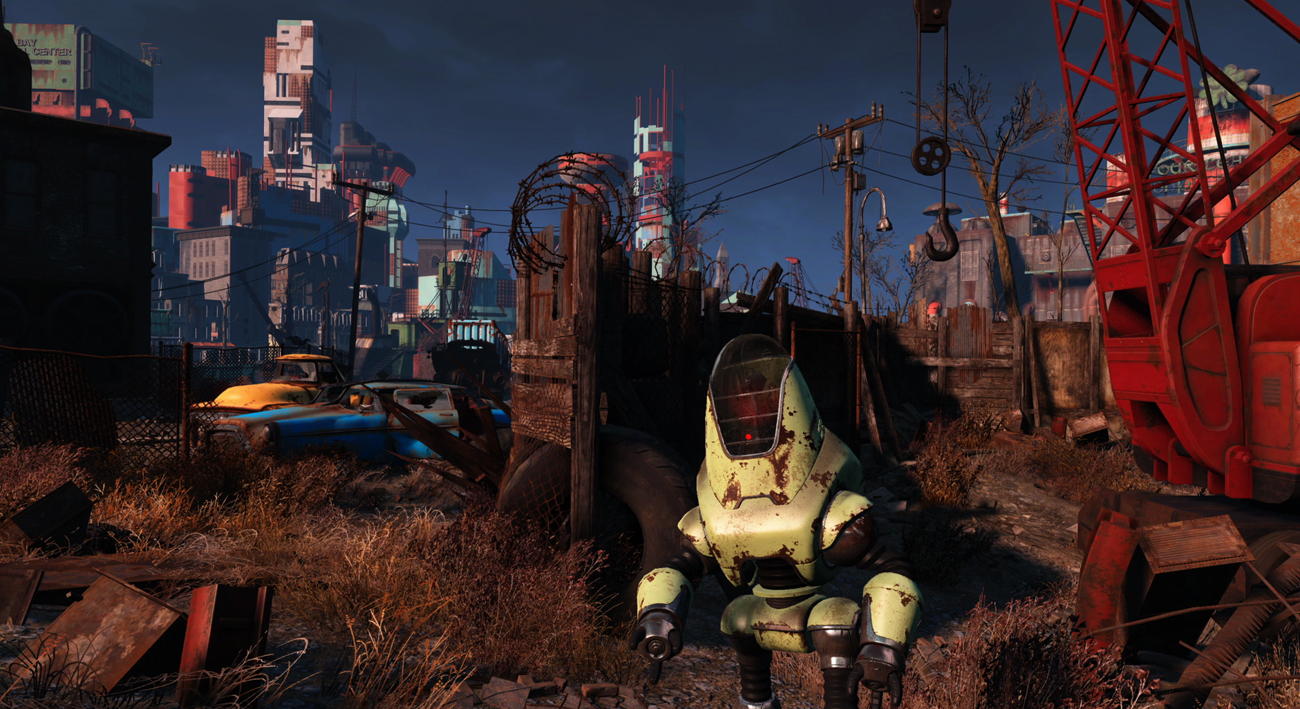Внутри игры Fallout 4