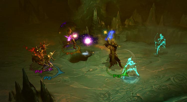 Во время игры в Diablo 3