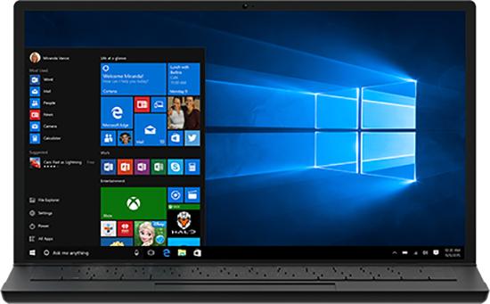 Ноутбук с Windows 10
