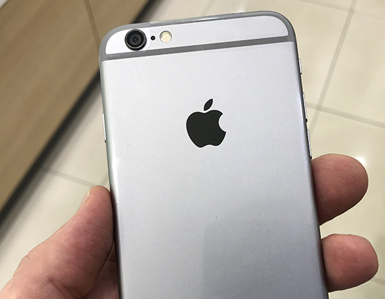 Задняя сторона iPhone 6