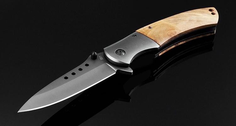 Красивый нож 8cr13mov