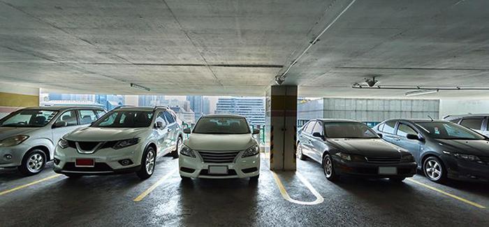 Современный паркинг