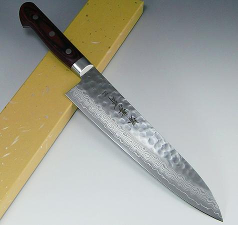 Большой нож из стали VG-10