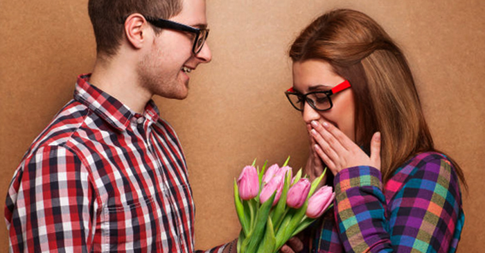 Букет цветов девушке