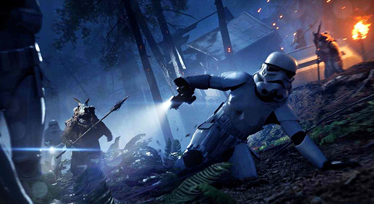 В игре Star Wars: Battlefront II