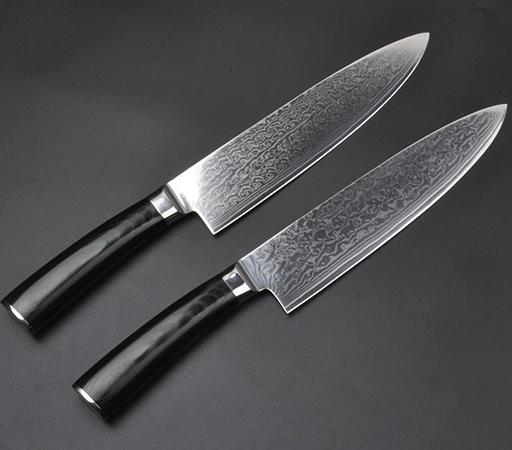 Два ножа VG-10