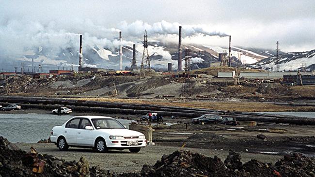 Добыча металла в Норильске
