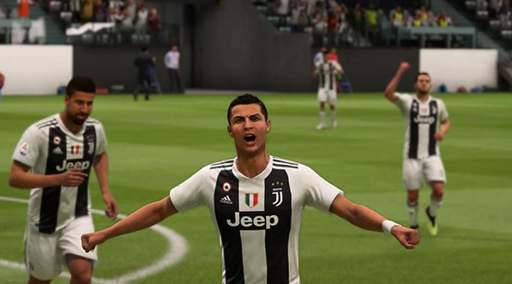 В игре FIFA 19