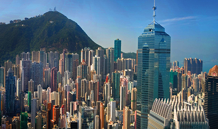 Красивый Гонконг
