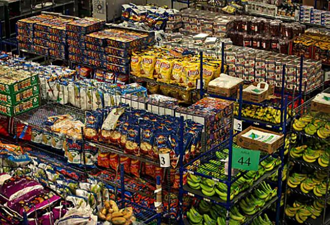 Магазин с продуктами