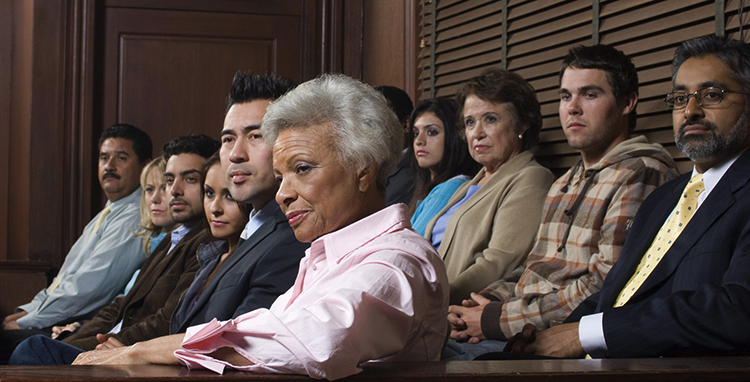Участники суда присяжных