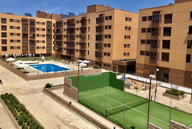 Красивые дома в Испании