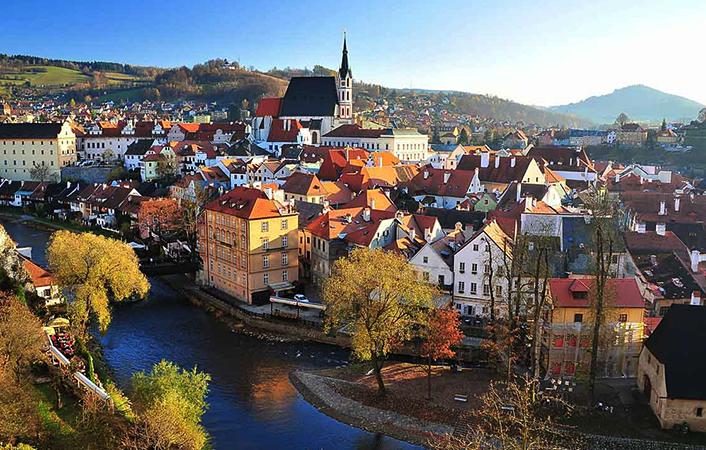 Европейский город