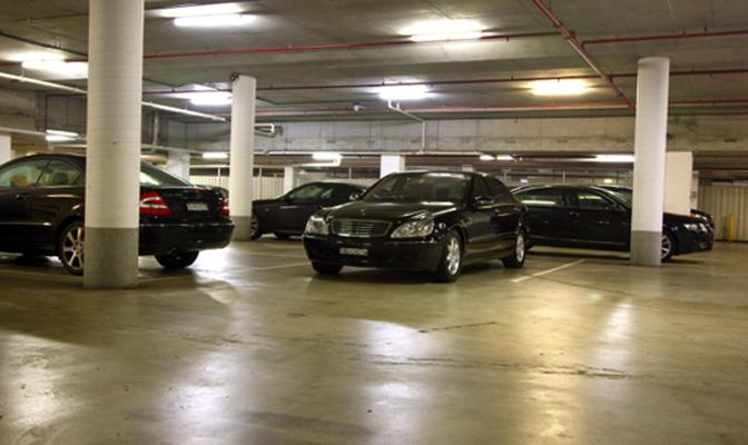 Современная парковка