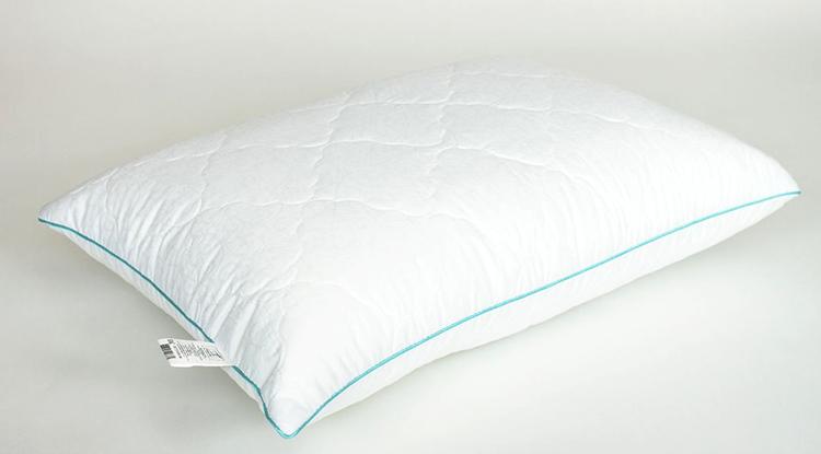 Новая белая подушка из микрофибры