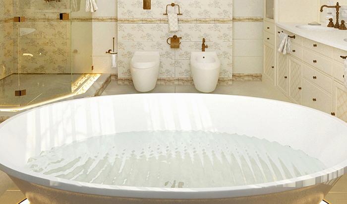 Большая полимерная ванна