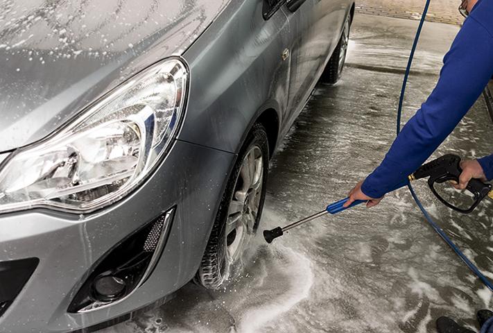 Профессиональное мытье машины