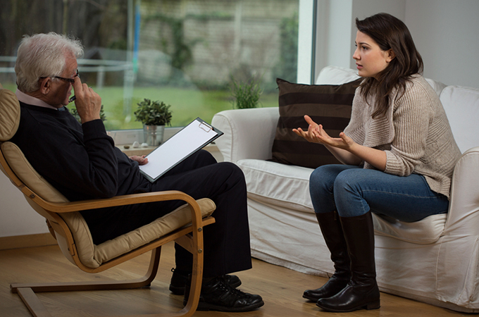 Диалог с психологом
