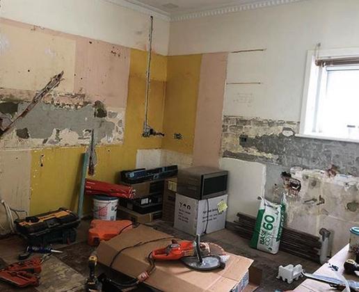 В квартире ремонт